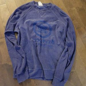 Diesel Purple Sweatshirt Size S